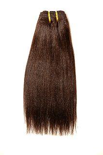 Human Hair Extensions Sew in Weave Weaving Black Brown Auburn