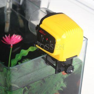 Digital Aquarium Fish Tank Food Automatic Feeder Timer Adjustable