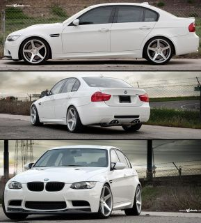 Wheels For BMW E90 E92 E93 328 335 Z4 Avant Garde M550 Rims & Caps Set