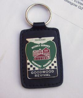 Aston Martin Works Service Key Ring Fob Badge DBS DB9 DB4 DB7