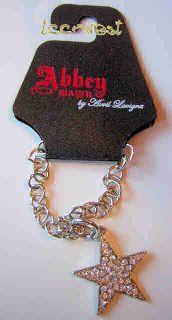 Avril Lavigne Abbey Dawn Crystal Star Silver Bracelet