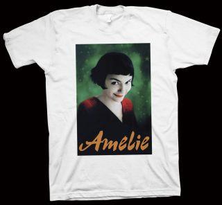 Amelie T Shirt Jean Pierre Jeunet Audrey Tautou Mathieu Kassovitz
