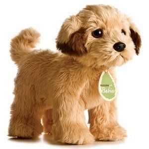 Aurora 10 Plush Beasley Dog Stuffed Animal Toy Babies