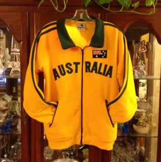 AUSTRALIA Football soccer Track jersey sweat shirt Jacket top