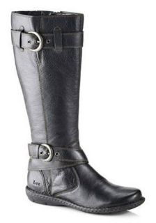 Born B O C Leather Riding Style Boots in Black or Brown