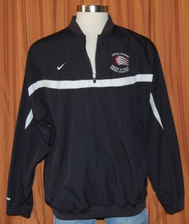 Nike Azusa Pacific Track Field Pullover Jacket Mens XL