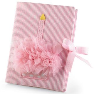 Baby Girls First Birthday Pink Cupcake Photo Album