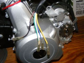 New 70cc ATV Four Wheeling Quad Engine Fully Automatic w Electric