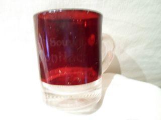Mi Mich Michigan eapg ruby flash by Troy Waterford Auburn Hills Sylvan