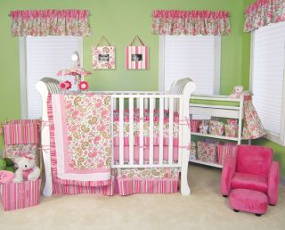 Trend Lab Paisley 4 PC Baby Nursery Crib Bedding Set