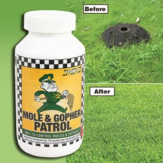 Mole and Gopher Patrol Rodent Repellant Bait 1 lb Bottle