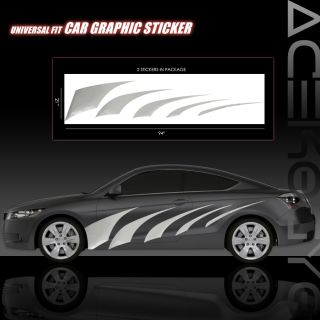UNIVERSAL CUSTOM JDM STYLE VINYL AUTO GRAPHICS DECAL STICKER