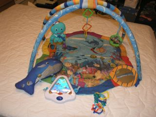 Baby Einstein Ocean Gym exercise play mat classical music Mozart