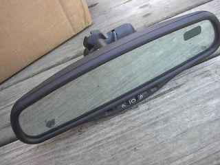 Lincoln Continental Auto Dim Rear View Mirror Compass