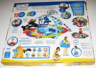 NEW! BABY EINSTEIN DELUXE PLAY GYM Activity Toy Mat Neptune Ocean