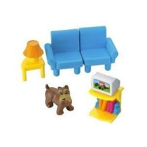 Fisher Price My First Dollhouse Playset People Accessories Complete