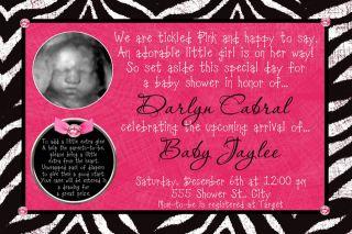 Boy Girl Ultrasound Baby Shower Invitations 50 Desig