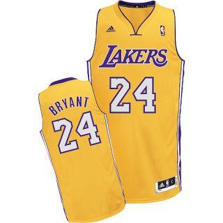 Los Angeles Lakers Kobe Bryant Gold Swingman Jersey sz Large