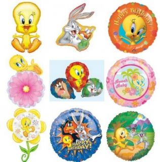 Looney Tunes Tweety Bugs Bunny Jumbo Birthday or Baby Shower Balloons