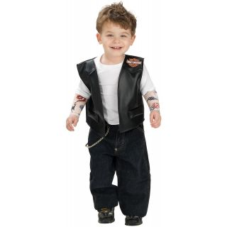 Boy Harley Davidson Costume Toddler Baby Boys Dude Halloween