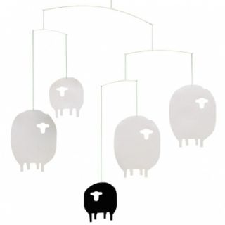Flensted Sheep Lamb Hanging Baby Mobile Nursery Decor