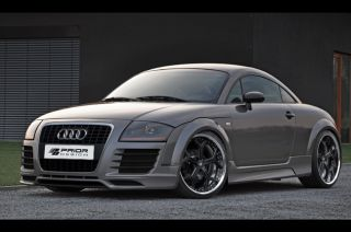Audi TT 8N R8 Style Body Kit Front and Rear Bumper Lip Side Skirts Lip