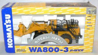 Komatsu WA 800 3 Avance Wheel Loader 1 50 Diecast Metal