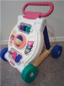 fisher price activity walker push baby toy