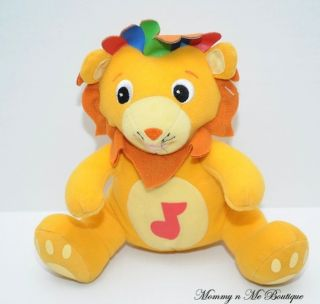 Baby Einstein Newton Musical 7 Lion Plush Toy