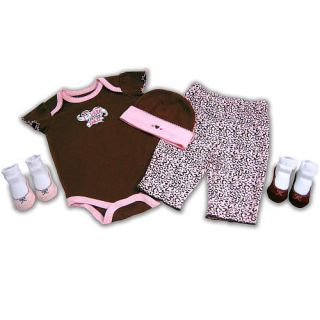 Baby Essentials 5 Piece Layette Set I Love Dad
