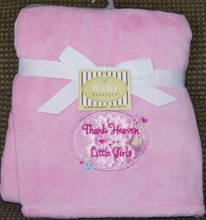 Baby Starters Security Blanket Super Soft