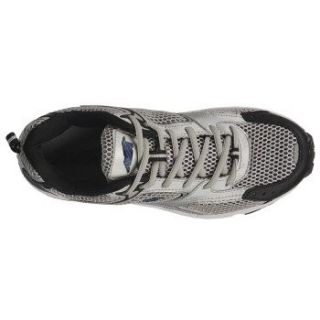 Avia Mens A5015 Running Shoes Sneakers Grey Black Navy