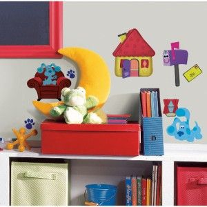 New Blues Clues Wall Decals Kids Room Stickers Baby Nursery Puppy Dogs