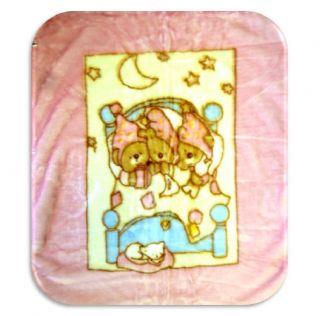 Baby Bear Cuddle Sac Cacoon Sleeping Bag Blanket Fleece Throw Toddler