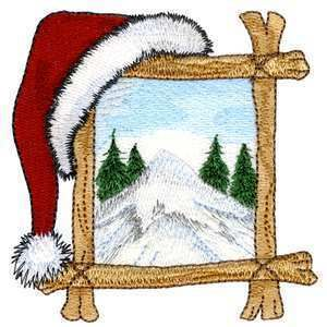 Brother Babylock Embroidery Machine Card Northwoods Christmas 1
