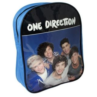 1D Junior Backpack Rucksack Kids School Bag Blue Black