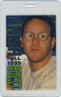 Unused GUEST laminated backstage pass for the PHISH 1999 HAMPTON COME