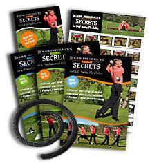 Roger Fredericks Golf Swing Flexibility 3 DVD Set New