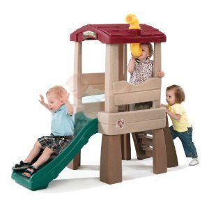 Climber Slide Play Set Outdoor Adventure Backyard Gym Treehouse New