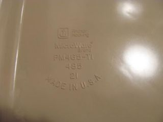 Anchor Hocking Microware Bacon Tray Microwave Cooker Made in USA
