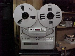Akai 747 GX 747 Reel to Reel Tape Recorder
