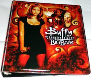 Inkworks Buffy The Vampire Slayer Big Bads Card Binder Brand New Album