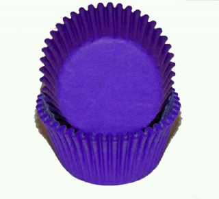 50 Purple Standard Cupcake Baking Cups Party Favors