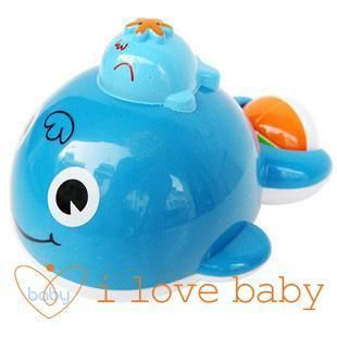 Baby Bath Toy Auto Spray Water Splash Squirt Whale