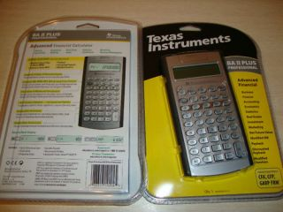 NEW TI BA II Plus Pro Professional Financial Calculator IIBAPRO CLM