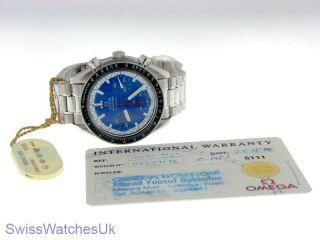 Omega Speedmaster Schumacher Blue Automatic Gents Watch