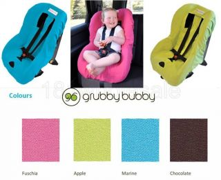 Grubby Bubby Baby Car Seat Cover for Baby Toddler 4 Colours Brand