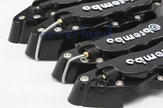 4X Car Front Rear Universal Disc Brake Calipers Covers Brembo Look Big