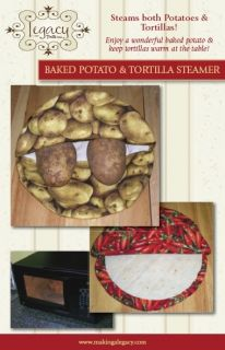 Free pattern for microwave baked potato bag - CookEatShare