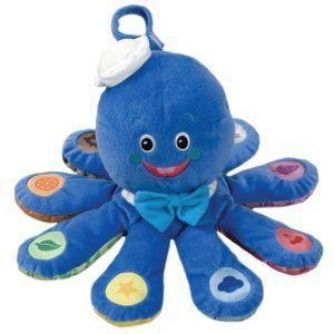 Baby Einstein Octoplush Octopus Language Melody Toy New
